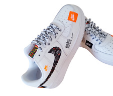 Nike Air Force 1 One Utility Low Blanc 07 LV8 Toutes Tailles WHITE ALL SIZES
