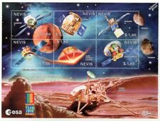 TOMORROW MARS Exploration Probes & Landers Space Stamp Sheet #2 (2000 Nevis)