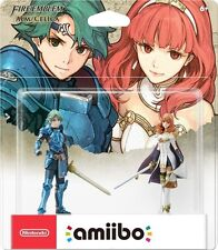 Nintendo Amiibo 2 Pack Fire Emblem Echoes: Alm/Celica Figures. US version. NEW