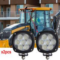 For John Deere AT305931, AT443224, AT443223 35W Flood Beam Led Work lights x2pcs