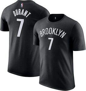 Kevin Durant Brooklyn Nets #7 NBA Boys Black T-Shirt -Youth S, M, L, XL