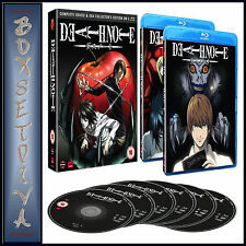 DEATH NOTE - COMPLETE SERIES AND OVA COLLECTION *BRAND NEW BLU-RAY**