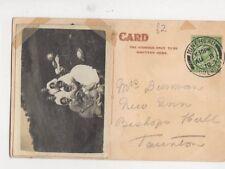 Mrs Burman New Inn Bishops Hull Taunton 1912 490a