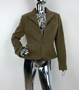 Ralph Lauren Purple Label Jacket One Button Blazer Ladies US 8 / UK 10