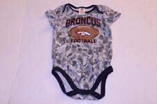 8405e4147 Infant Baby Denver Broncos 18 Months Creeper One-Piece NFL Team Apparel