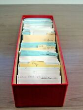 ITALY, Excellent assortment of Stamps in 400+ stock cards(red box)