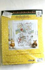 Bucilla Mary Engelbreit Classic Mother Goose Crib Cover Kit Cross Stitch 46373