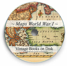 Rare World War 1 Maps Book DVD Military History Battles Photos Great War WW1 251