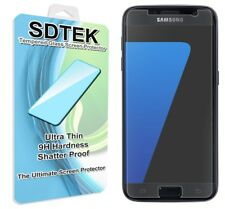 SDTEK Tempered Glass Screen Protector for Samsung Galaxy S7