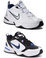 Scarpe Nike Air Monarch IV Uomo Sneaker Palestra Running Tempo Libero Bianco