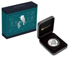 2018 Australia 1 oz High Relief Silver Kookaburra $1 Coin GEM Proof OGP SKU53373