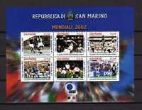 15025) San Marino 2002 MNH New - Football Soccer World
