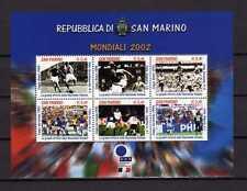 15025) SAN MARINO 2002 MNH** Nuovi** - Calcio Soccer World