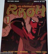 Manga La LEGENDE de RAOH tome 1 Asuka éditions hokuto no ken très bon état