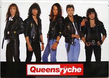 Queensryche Operation Mindcrime 1989 Japan Tour Concert Program