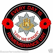Royal Anglian Regiment Remembrance Day Inside Car Window Clear Cling Sticker