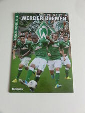 Werder Bremen Fankalender 2014 9783832767549