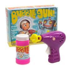 Bubble Gun. Kids Fun Outdoor Indoor Toys Vintage Retro Traditional Party Game