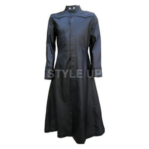 Men's New Matrix Neo The One Evolution Stylish Casual Wear Leather Trench Coat