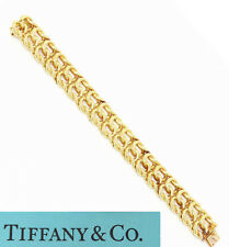 NYJEWEL Tiffany & Co France 18k Yellow Gold Braided Link Bracelet