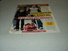 H315 JUSTIN TIMBERLAKE JESSICA BIEL '2007 FRENCH CLIPPING