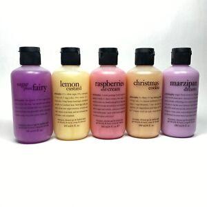 Philosophy Shampoo Shower Gel Bubble Bath 8oz Sealed Bottle Lemon Custard New