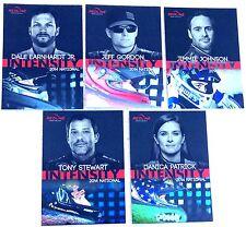 2014 National VIP Redline Intensity Racing Set Complete SEALED 5-Cards FREE SHIP