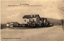 CPA HENDAYE Plage-Villas Basques sur le grand Boulevard (412039)