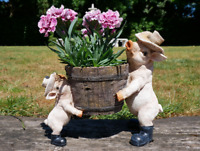 Decorative Garden Ornament Sid The Pig