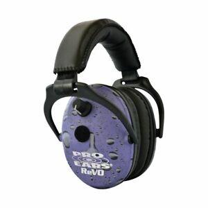 ReVO Kids Full Spectrum Electronic Safety Ear Muffs, Purple Rain