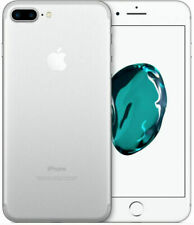 Apple Iphone 7 Plus - 128GB-Plateado (Desbloqueado) Excelente Estado-Caja + Accesorios