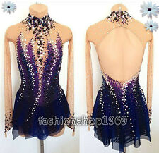 2017  Ice Figure Skating Dress  Baton Twirling Dress color grudual dress  xx297
