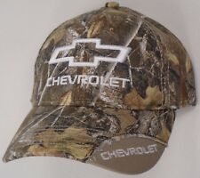 Hat Cap Chevrolet Chevy Bowtie Corner Bill Realtree Edge Full Camo OC