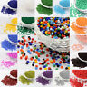 50g 11/0 Baking Varnish Opaque Colours Round Glass Seed Beads For Crafts 2x1.5mm