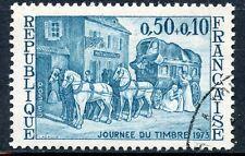STAMP / TIMBRE FRANCE OBLITERE N° 1749  JOURNEE DU TIMBRE RELAIS DE POSTE