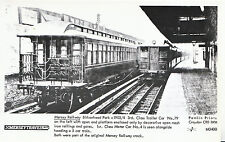 Railway Postcard - Mersey Railway - Birkenhead Park - Trailer Car No.79   U783