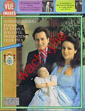 Point de vue n°1601 du 30/03/1979 Fouad Fadila d'Egypte naissance royale