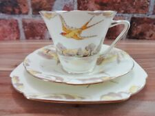More details for royal grafton derwent swallow trio cup saucer side plate