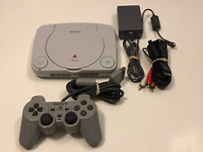 Sony Playstation PS One Video Game Console Slim WORKS GREAT! RARE!