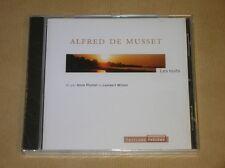 CD AUDIO LIVRE RARE / MUSSET / LES NUITS LU PAR LAMBERT WILSON / NEUF SOUS CELLO