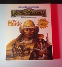 The Horde Boxed Set - Forgotten Realms AD&D 2nd Ed. COMPLETE INSIDE = NM/MT