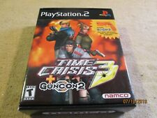 Time Crisis 3 GUNCON Sony PlayStation GUN ONLY No Game PS2 controller Namco gray