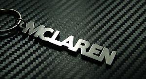 MCLAREN Name Keyring Keychain Key Fob