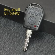 Uncut Remote Key Blank Case For BMW E31 E32 E34 E36 E38 E39 E46 Z3 Shell Fob