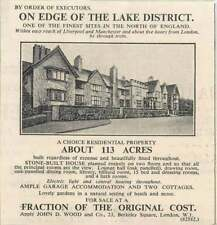 1936 Edge Of The Lake District Stone Built House 15 Bedrooms 113 Acres For Sale
