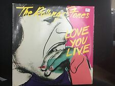 ROLLING STONES LOVE YOU LIVE 2 LP 1977 ROLLING STONES RECORDS COC 2-9001 INNER