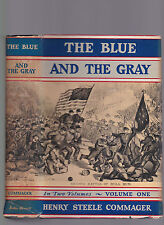 The Blue & The Gray (Civil War history, 2 vols. Complete), Henry Steel Commager