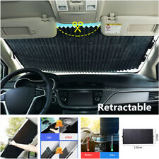 Aluminum foil Retractable Sun Visor Car Windshield SunShade Blocks UV Protection