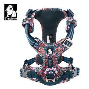 Truelove Nylon Webbing with 3M Reflective Pet Dog Harness - TLH5655 -Navy Blazer