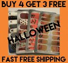 Halloween Color Nail Polish Strips - BUY 4 GET 3 FREE - FREE SHIPPING